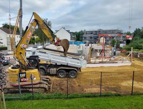 01.09.2021 Überblick über den aktuellen Baustand von Haus 3 & 4.