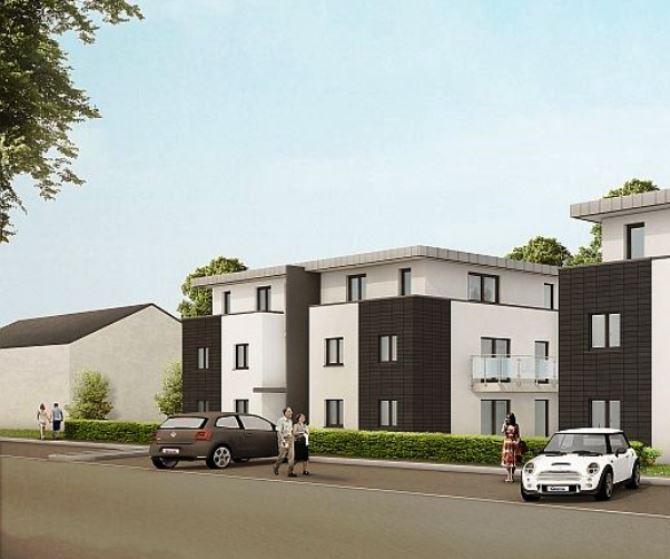 3D-Ansicht- Haus 3&4