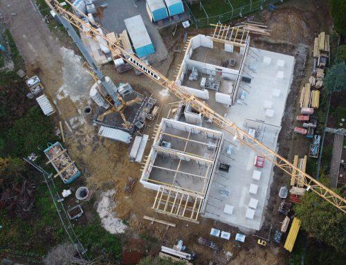 25.11.2020 Aktueller Baustand aus der Vogelperspektive